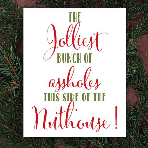 Christmas Vacation Quotes Jolliest Bunch Of
