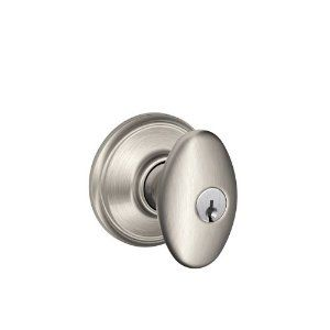 how to take off a schlage door knob