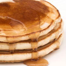Ricetta Pancakes allo sciroppo d'acero (Dolci) [VeganHome]