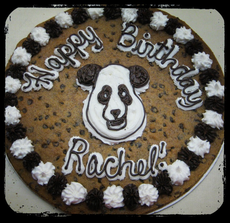 Cookie cake something i have missed up here cookie