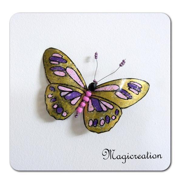 MAGNET PAPILLON HATHOR - Boutique www.magicreation.fr