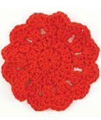 SB149-005 CoastersCrochet Coaster, Crochet Pattern