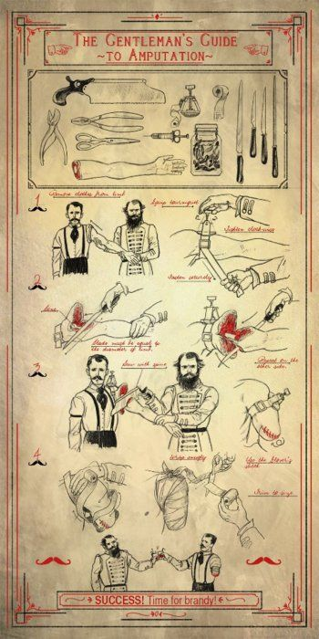 The Gentleman's Guide To Amputation...