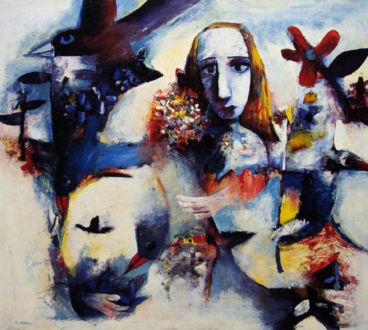 Alice Phoenix 1957 Charles Blackman