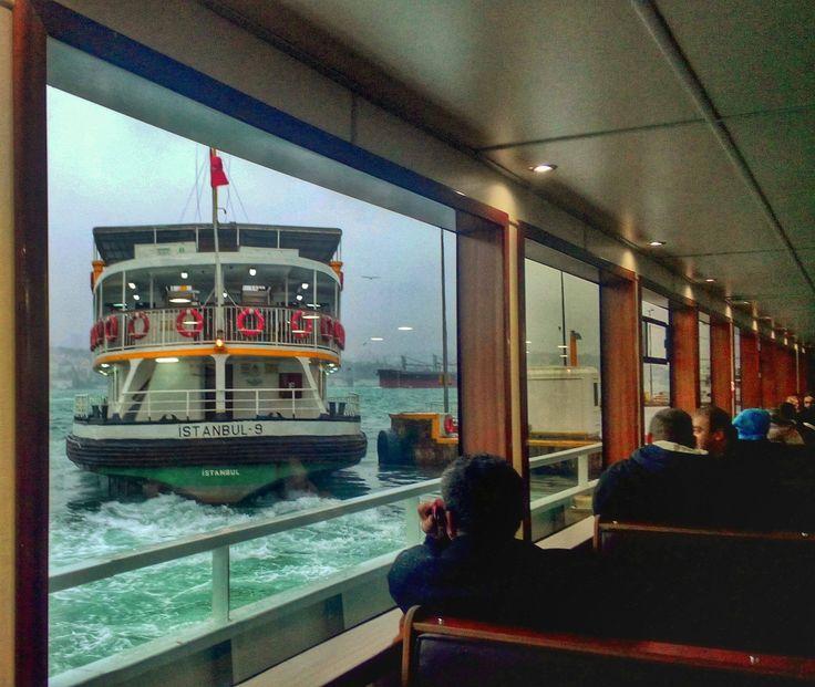 Bosphorous #ferry #istanbul