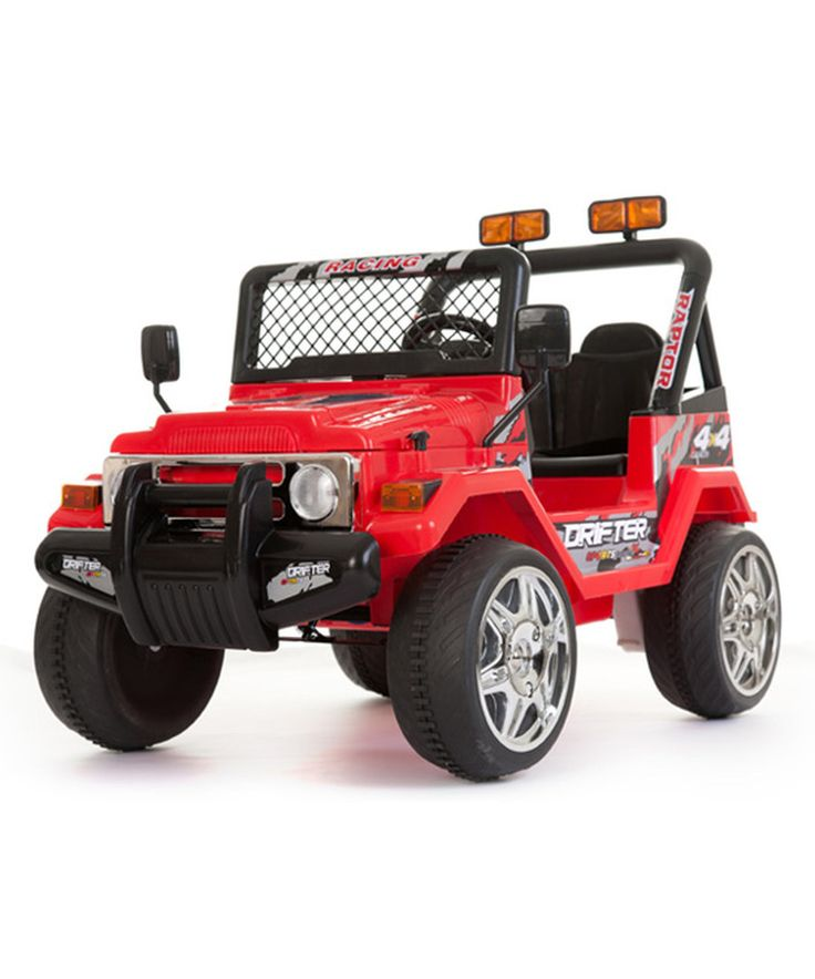 Look at this Small Red Jeep Wrangler Ride-On on #zulily today!