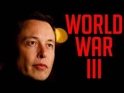 Elon Musk Warns Humans About World War 3 - YouTube