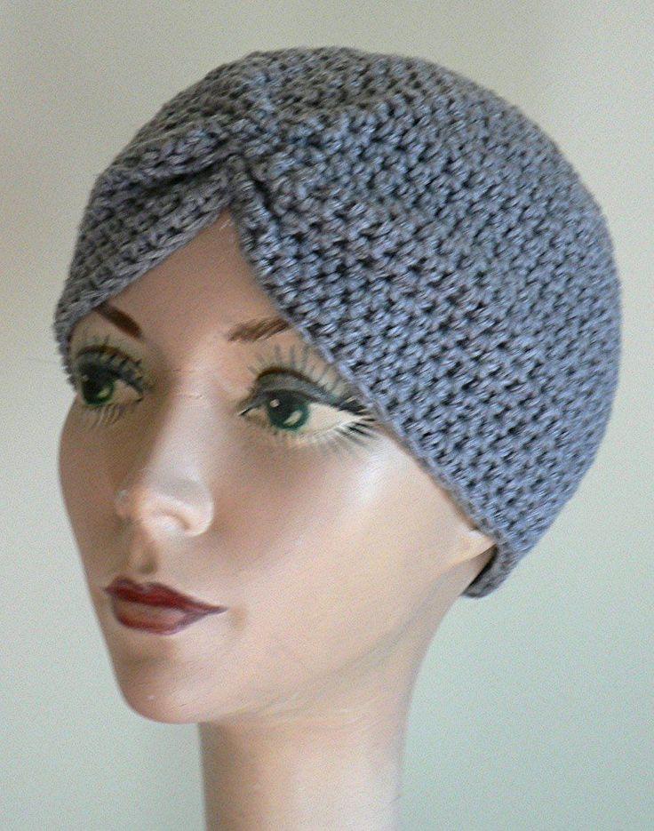 Knitting Patterns For Turban Hats : Best 25+ Crochet turban ideas on Pinterest Crochet ear ...