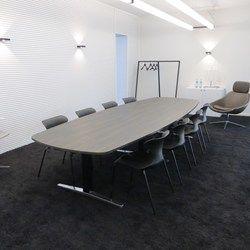 Attention vergadertafel - elektrisch hoogte instelbaar tot hoge sta tafel #actie #korting #showroom #burovorm #sedus www.burovorm.be