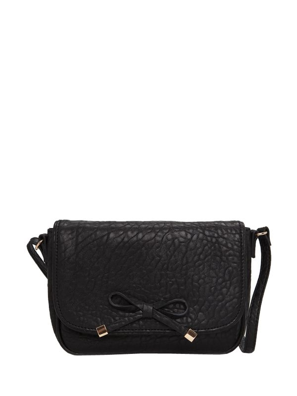 Bowknot Ornamented Woman Crossbody Bags
