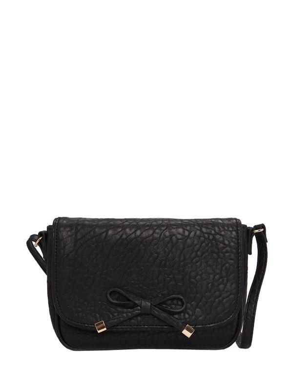 Bowknot Ornamented Woman Crossbody Bags