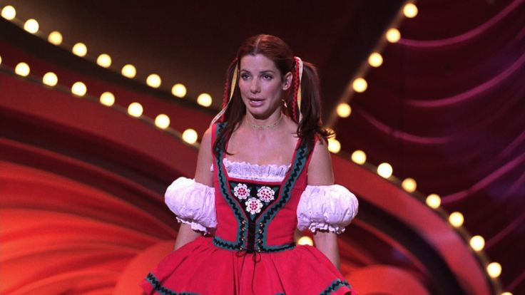 Sandra Bullock in the talent section of the Miss America competition in 'Miss Congeniality'! Loved that film and I definitely had this very funny scene in mind as, like Tamra, I racked my brains to think of a 'talent' Brianna Jade could demonstrate as a pageant contestant.