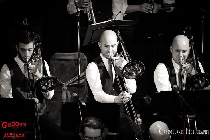 Groove Attack Big Band's Concert Γυάλινο Μουσικό Θέατρο