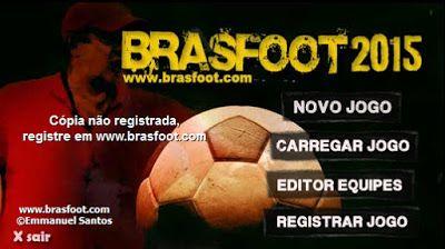 Download / Baixar Brasfoot 2015 - O Brasfoot é um jogo em que você assume o comando de um time de futebol. Compra e vende jogadores. Define táticas, participa de competições de clubes e seleções. Sua principal característica é ser um jogo leve, rápido e divertido!  http://brasfootexperience.blogspot.com.br/2016/02/download-baixar-brasfoot-2015.html