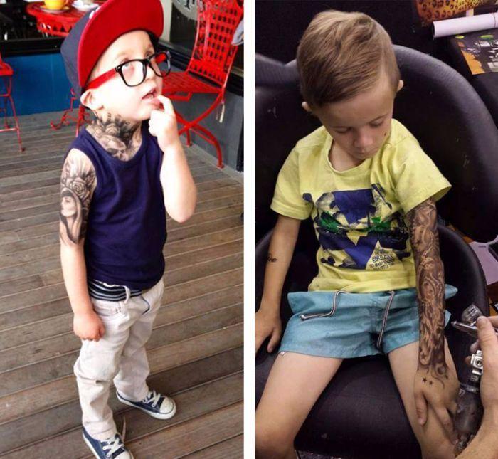 Des tatouages pour les enfants malades : une idée en or !