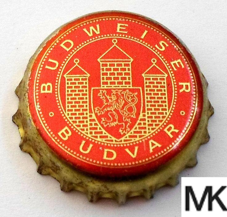 Tapa de botella: Budweiser Budvar (Budweiser Budvar, República Checa) Col:BE-CZ-0059