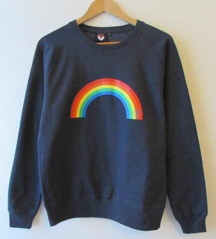 Bax & Bay Rainbow Sweatshirt NAVY