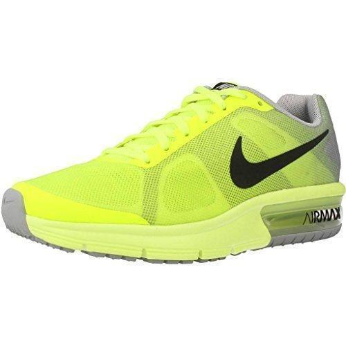 Oferta: 80€. Comprar Ofertas de Nike Air Max Sequent (gs), Zapatillas de Running Para Niños, Amarillo (Amarillo (Volt/Black-Wolf Grey)), 37.5 EU barato. ¡Mira las ofertas!