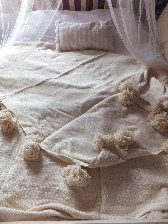 Pom Pom Blankets stocke available