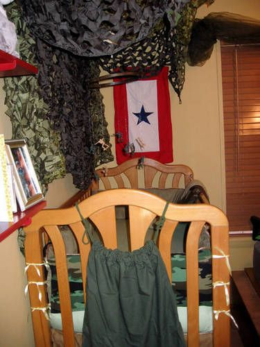 Vintage Army Themed Nursery  PIC HEAVY    HOME SWEET HOME21 best Military Boys Room Ideas images on Pinterest   Army room  . Marine Corps Themed Room. Home Design Ideas