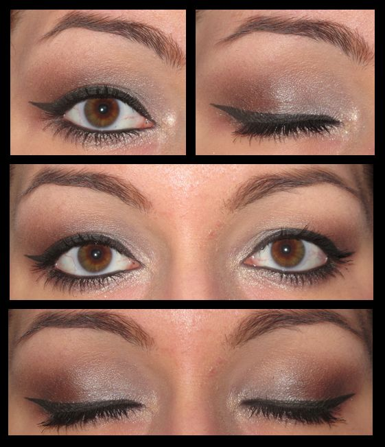 Maquillage Yeux Marrons Stile Pinterest