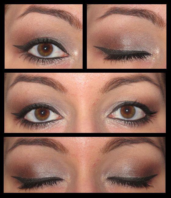 Maquillage Yeux Marrons Stile Pinterest