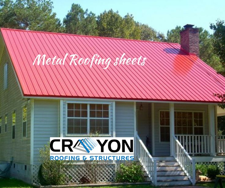 Want to buy Metal Roofing Sheets? Approach Crayon Roofings & structures. We offer Long term warranties. Make a call and place your order.  98414 99241 http://www.crayonroofings.com/metal-roofing-color-sheets/