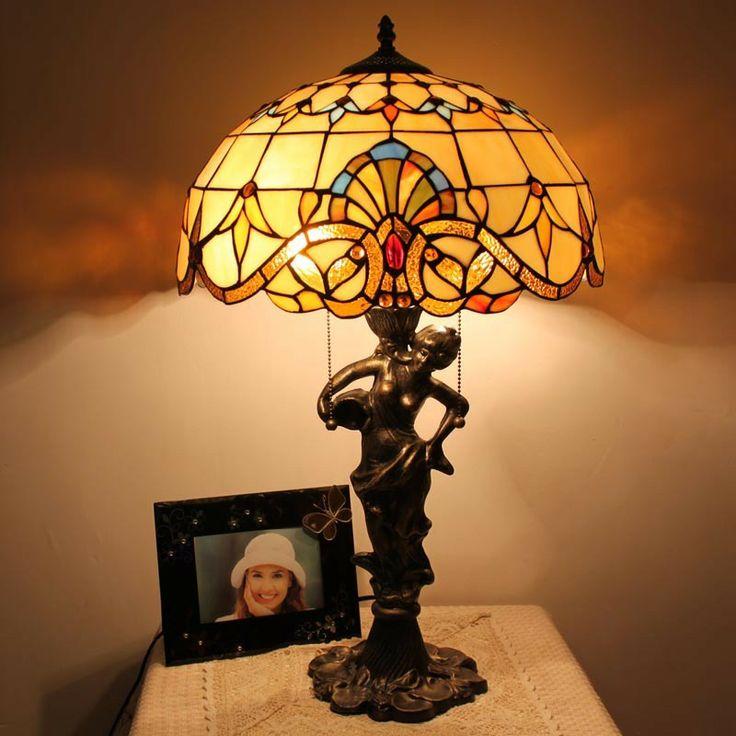 Sunrise Tiffany Table Lamp