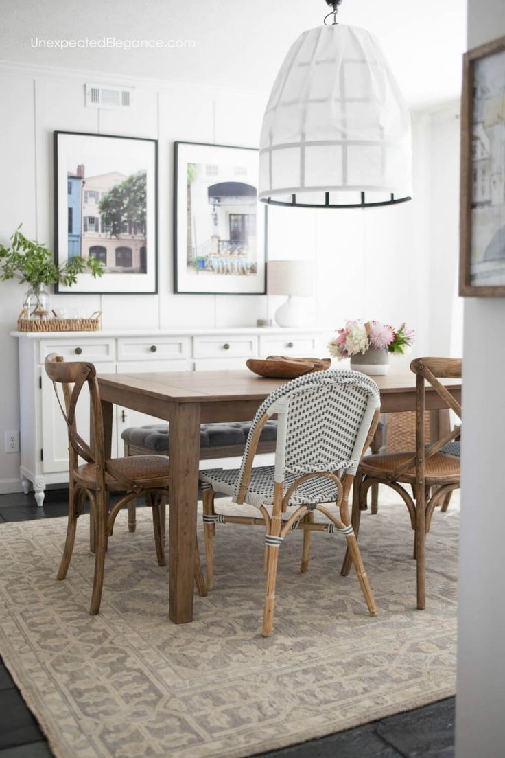 Dining Room Inspiration Get All The Details About This Casual Makeover Diningroom Diningroomdecor Roommakeover