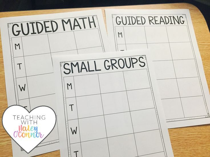 Planning Sheets for Teachers by Haley OConnor