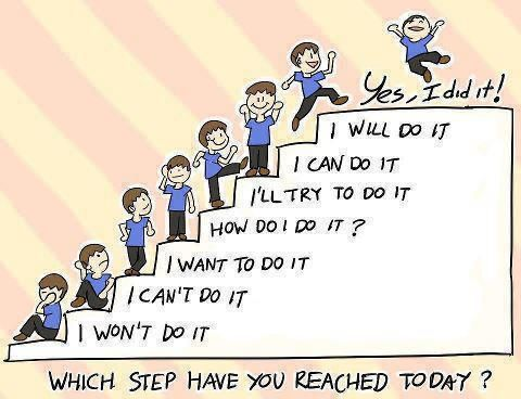 Which step will you reach today?