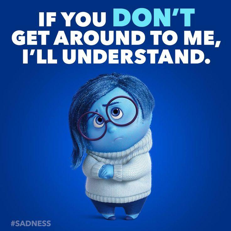 Inside Out Pixar Sadness Quotes Quotesgram: Pin De Lizethgalvez.com Diseño De Impacto En Intensa-Mente