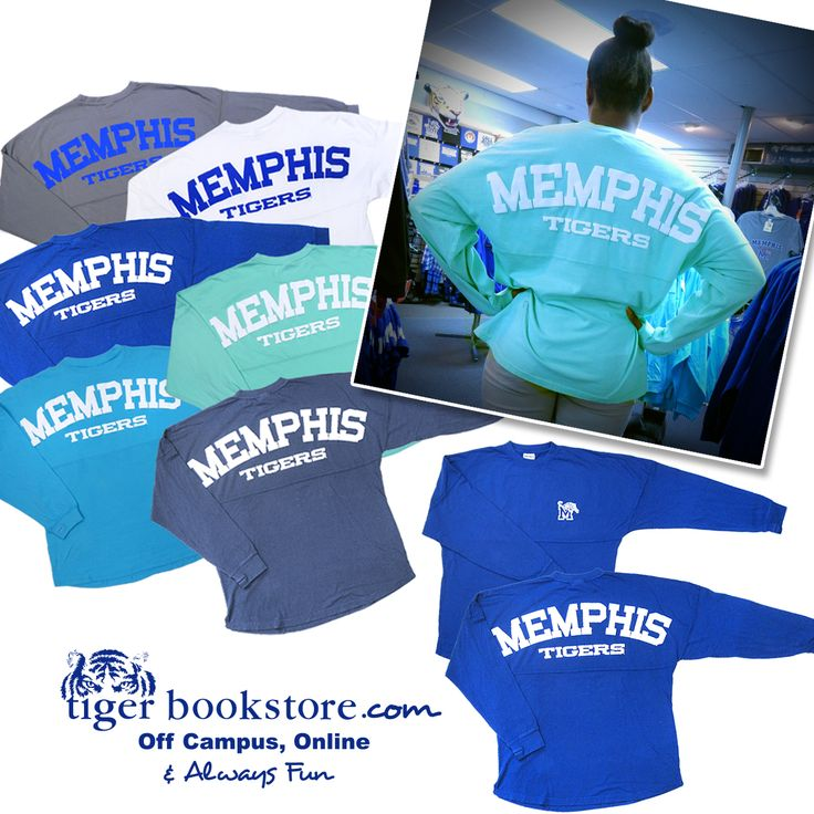 Back in stock! These oversized, super soft Comfort Colors™ spirit tees are all the rage and we have multiple colors to choose from! These always go fast, so order yours today! #gotigersgo #memphis #tigers
