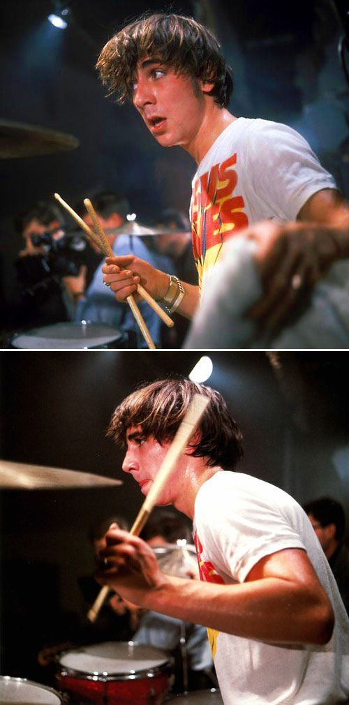 Keith Moon, The Who, by Chris Morphet