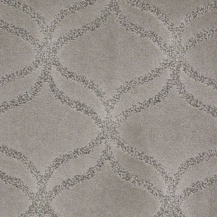 New Exhibition Arctic Frost Patterned Carpet Textured