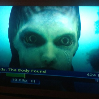 """Freaky interpretation of a mermaid on this weird show on Discovery Channel: """"Mermaids: The Body Found"""""""