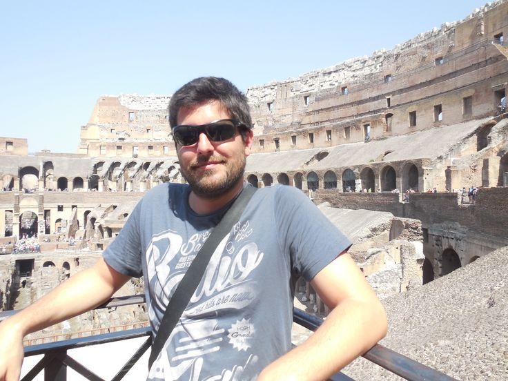 El Coliseo, Roma, Italia.