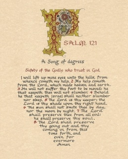 another Psalm 121