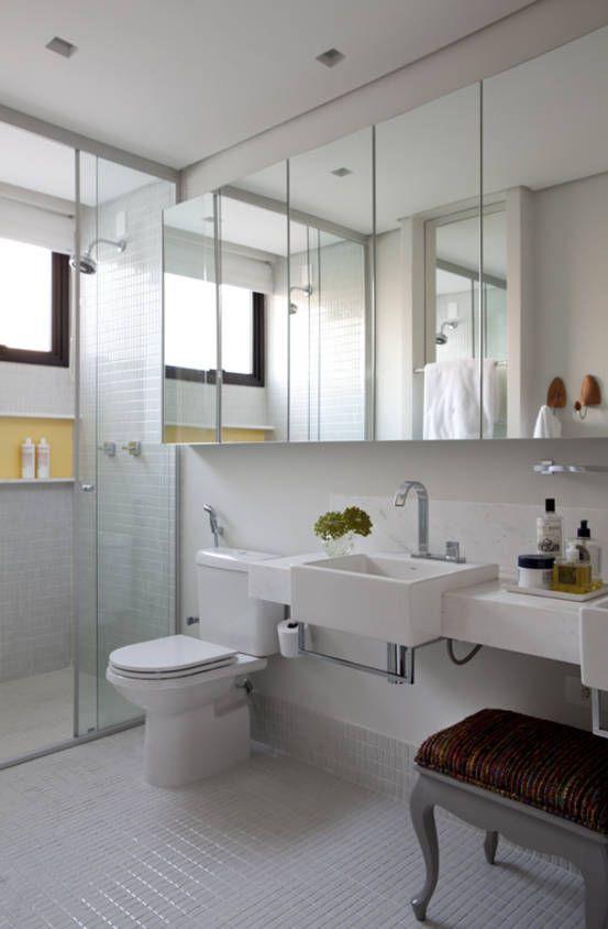 Uma Linda Casa Moderna. Small BathroomBathroom IdeasBathroom ... Part 98