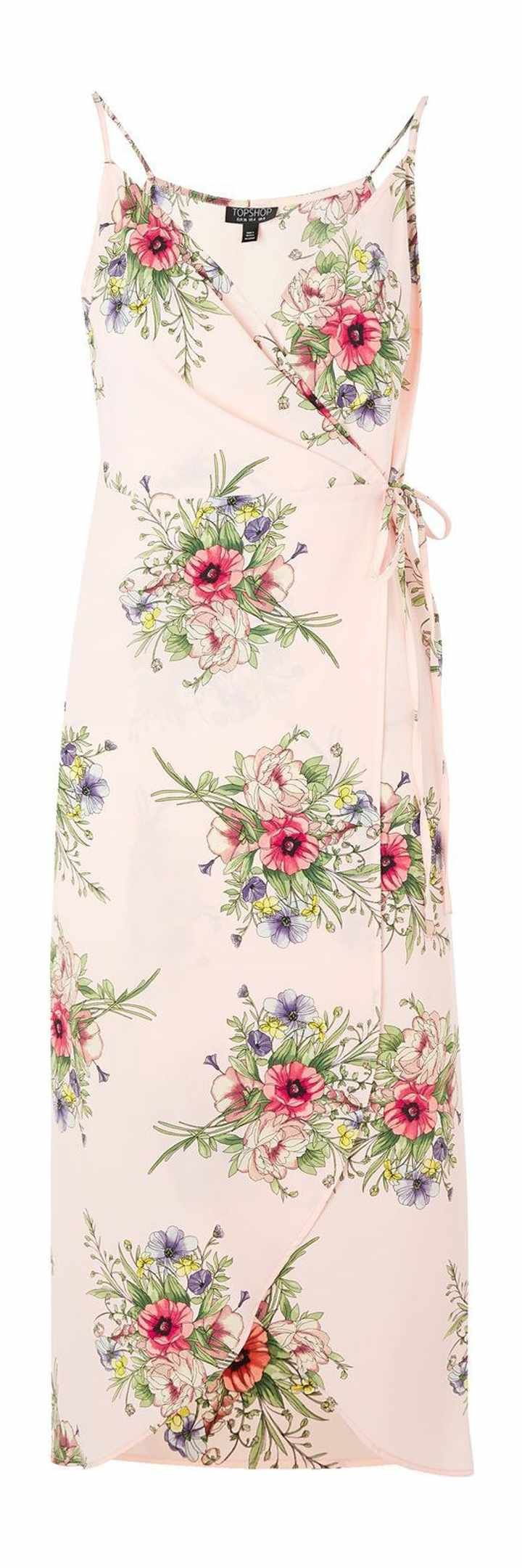 Free shipping and returns on Topshop Floral Wrap Slipdress at Nordstrom.com. A fluttery wrap design joins lush bouquets for true romance on an elegant waist-defining wrap dress with a flattering drapey neckline.