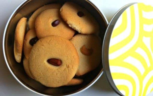 Πανεύκολα μπισκότα βουτύρου με 3 υλικά