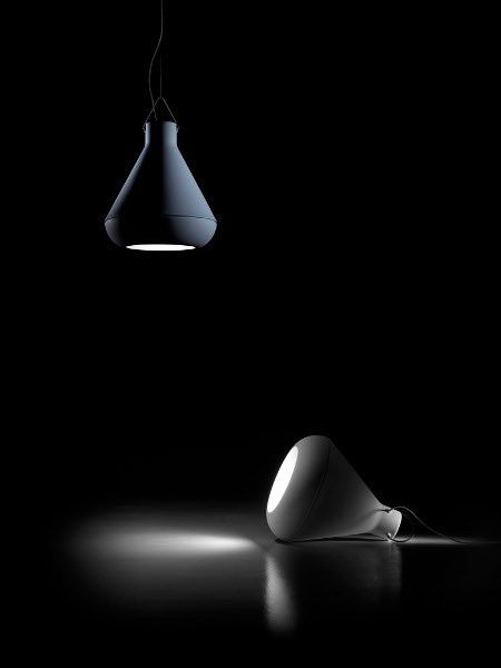 PLUST Collection by Euro 3 Plast  SPOT  Lampada a sospensione , design by Eddy Antonello (2012)