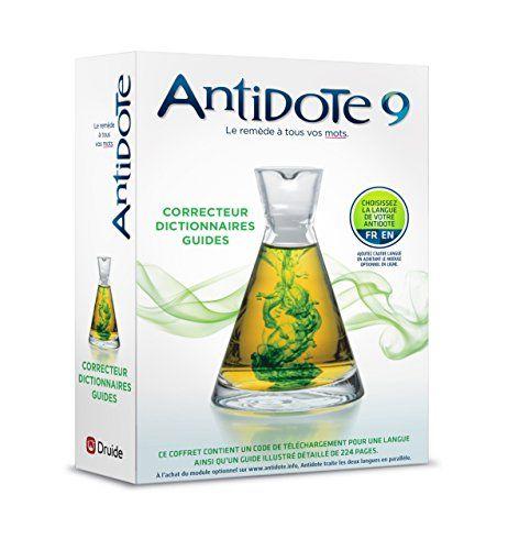 Antidote 9 : correcteur et dictionnaires pour le français ou l'anglais: Antidote est un assistant de choix pour bien écrire en français ou…