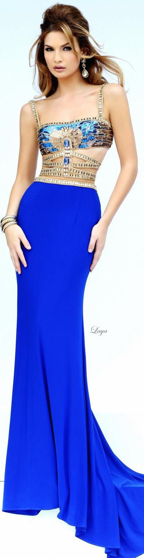 Sherri Hill Spring-2015 prom dress.  Egyptian inspired? Interesting concept