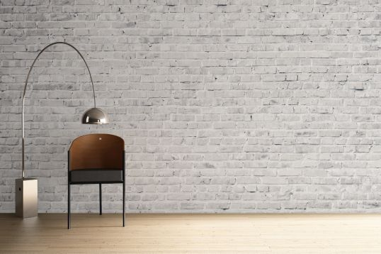 Clean White Brick Wallpaper Wall Mural | MuralsWallpaper.co.uk