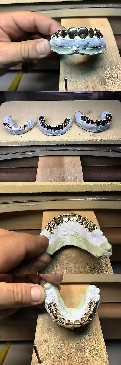 Grillz Dental Grills 152808: 10 K 12 Pc Top Custom Grillz BUY IT NOW ONLY: $350.0