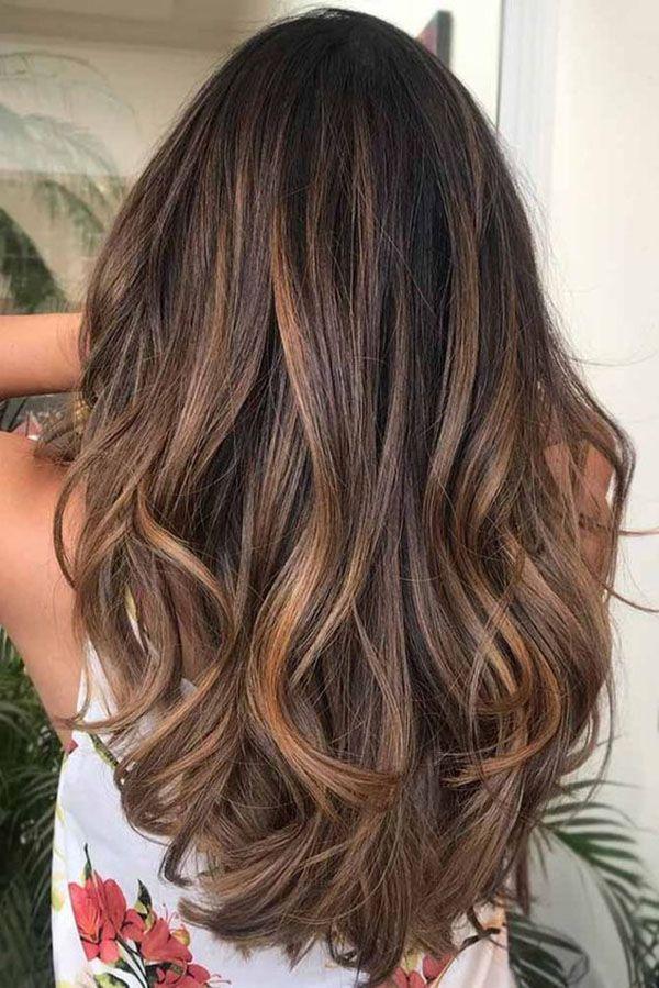 Lange Haarmodelle Haarfarben Ideen Und Trends Fur Die Lange Frisur Winter 2018 2019 Uber Frauen Haarfarben Ideen Haarfarben Frisuren Lang