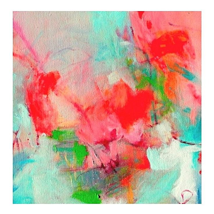 Rosso Scuro Painted Canvas Wall Art by United Artworks | Zanui