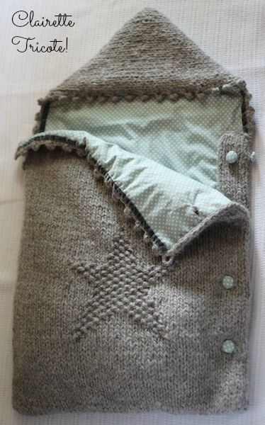 Modele Tricot Nid D Ange Bebe Gratuit Baby Gifts Pinterest