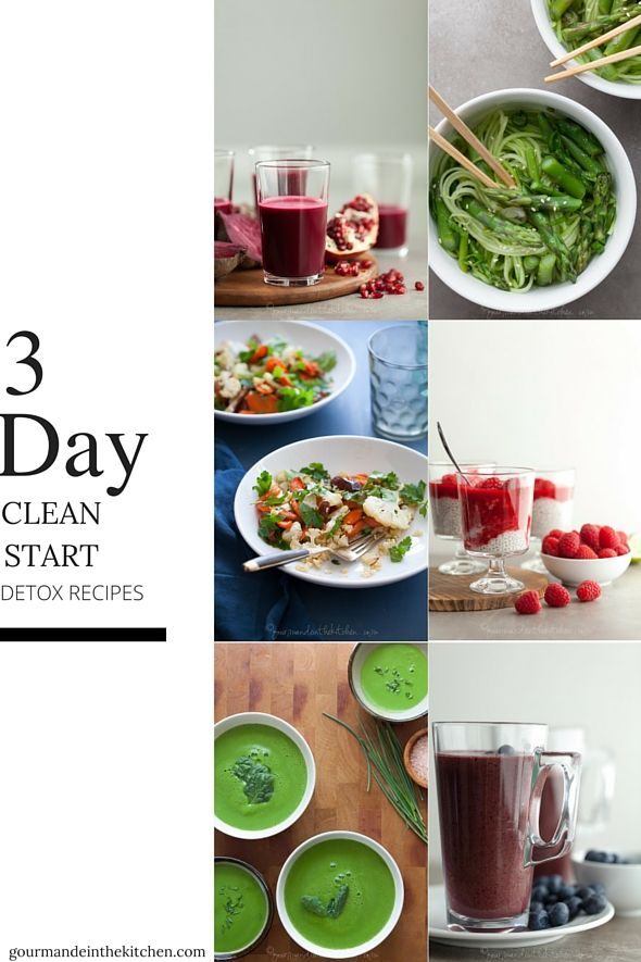 3 Day Clean Start Detox Recipes /